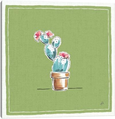 Desert Bloom IX Canvas Art Print