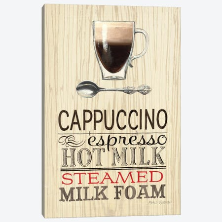 Cappucino  Canvas Print #WAC803} by Marco Fabiano Canvas Artwork