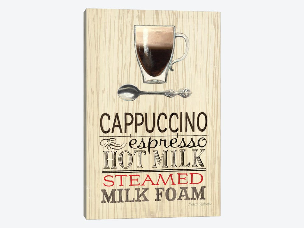 Cappucino by Marco Fabiano 1-piece Canvas Art