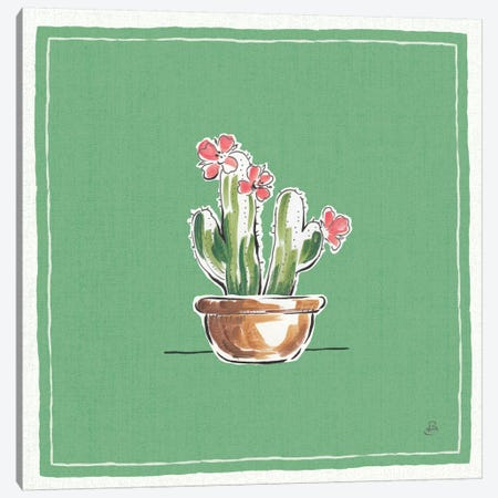 Desert Bloom X Canvas Print #WAC8041} by Daphne Brissonnet Canvas Art Print
