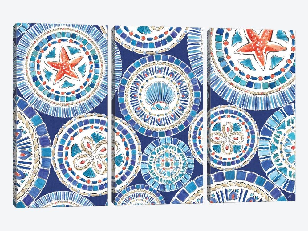 Maritime XV by Daphne Brissonnet 3-piece Canvas Art