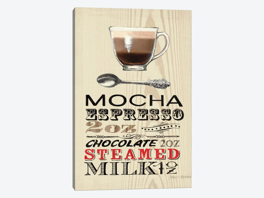 Mocha  by Marco Fabiano 1-piece Canvas Art Print
