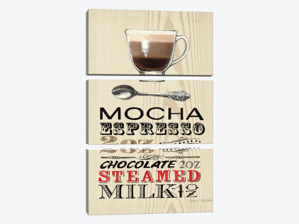 Mocha by Marco Fabiano 3-piece Art Print