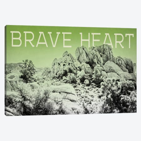 Ombre Adventure: Brave Heart Canvas Print #WAC8052} by Elizabeth Urquhart Canvas Art