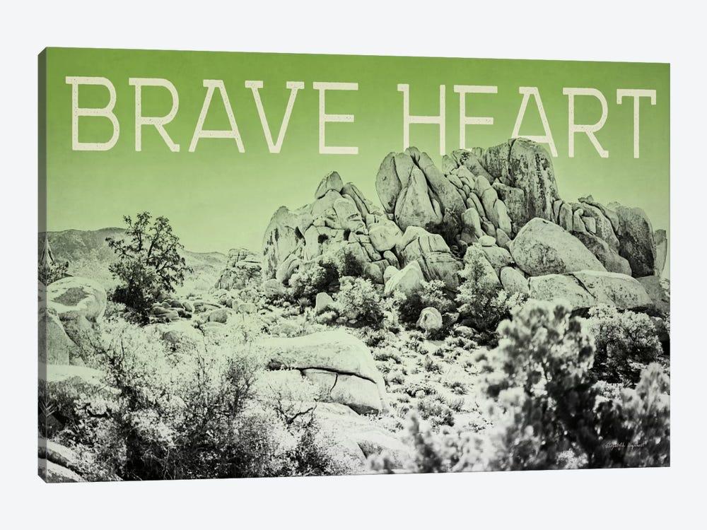 Ombre Adventure: Brave Heart by Elizabeth Urquhart 1-piece Canvas Wall Art
