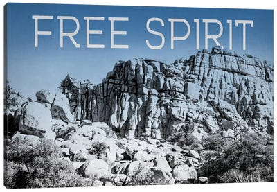 Ombre Adventure: Free Spirit Canvas Art Print