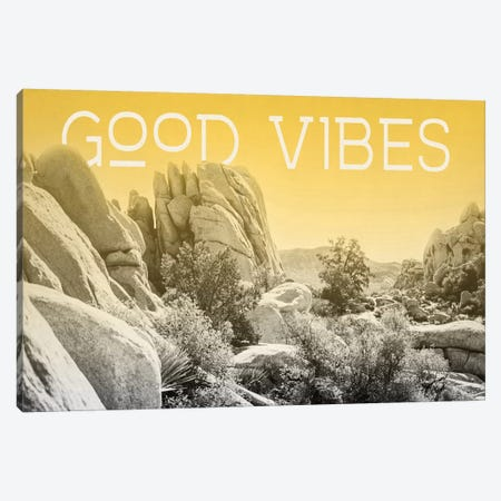 Ombre Adventure: Good Vibes Canvas Print #WAC8054} by Elizabeth Urquhart Canvas Art Print