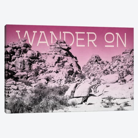 Ombre Adventure: Wander On Canvas Print #WAC8055} by Elizabeth Urquhart Canvas Art Print