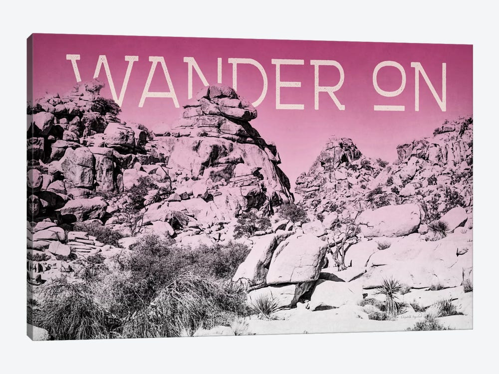 Ombre Adventure: Wander On by Elizabeth Urquhart 1-piece Canvas Print