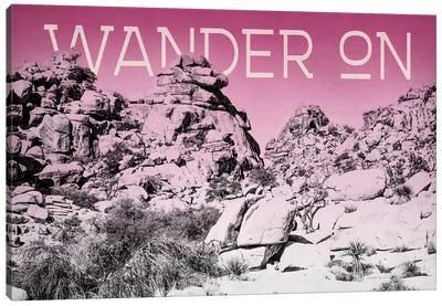 Ombre Adventure: Wander On Canvas Art Print