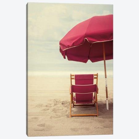 Under The Umbrella I Canvas Print #WAC8056} by Elizabeth Urquhart Art Print