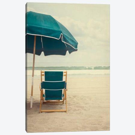 Under The Umbrella II Canvas Print #WAC8057} by Elizabeth Urquhart Art Print