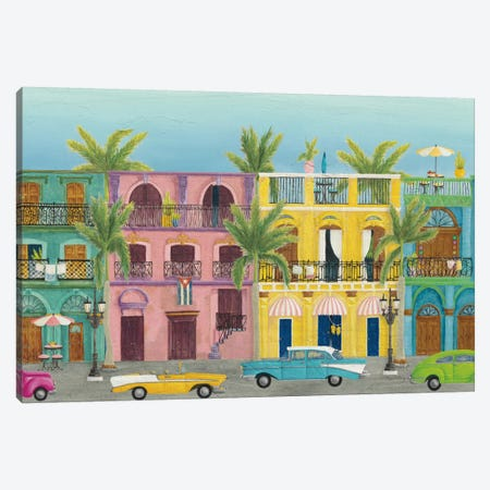 Havana I Canvas Print #WAC8058} by Elyse DeNeige Canvas Art