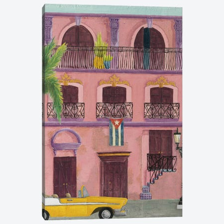 Havana II 3-Piece Canvas #WAC8059} by Elyse DeNeige Canvas Artwork