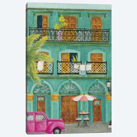 Havana III Canvas Print #WAC8060} by Elyse DeNeige Canvas Art Print