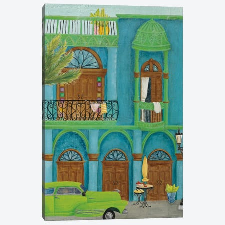 Havana IV 3-Piece Canvas #WAC8061} by Elyse DeNeige Canvas Print