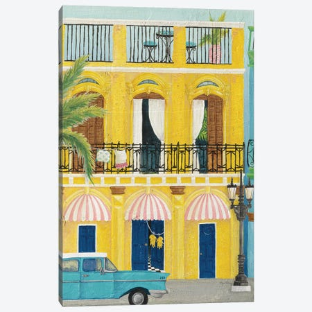 Havana V 3-Piece Canvas #WAC8063} by Elyse DeNeige Art Print