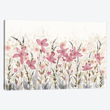 Watercolor Garden Light Canvas Print #WAC8067} by Elyse DeNeige Canvas Artwork