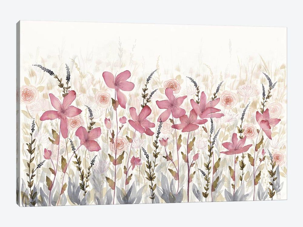 Watercolor Garden Light by Elyse DeNeige 1-piece Canvas Wall Art