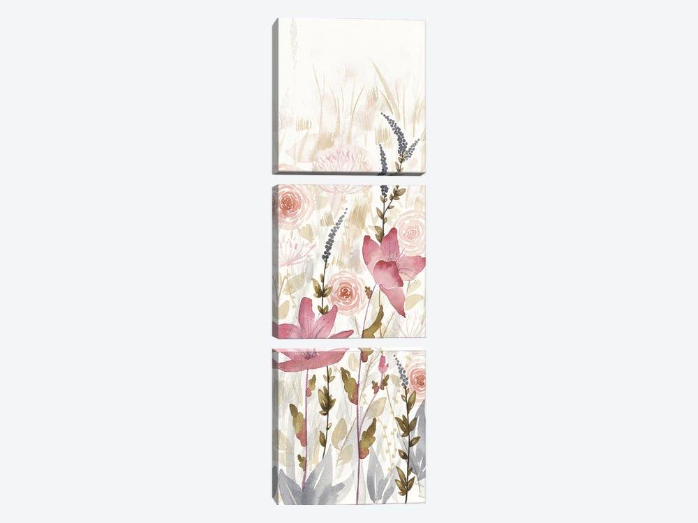 Watercolor Garden, Light III by Elyse DeNeige 3-piece Canvas Wall Art