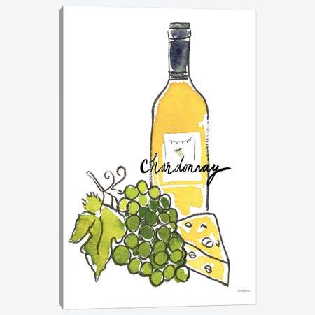 Wine Time: Chardonnay Canvas Print #WAC8079} by Farida Zaman Canvas Art