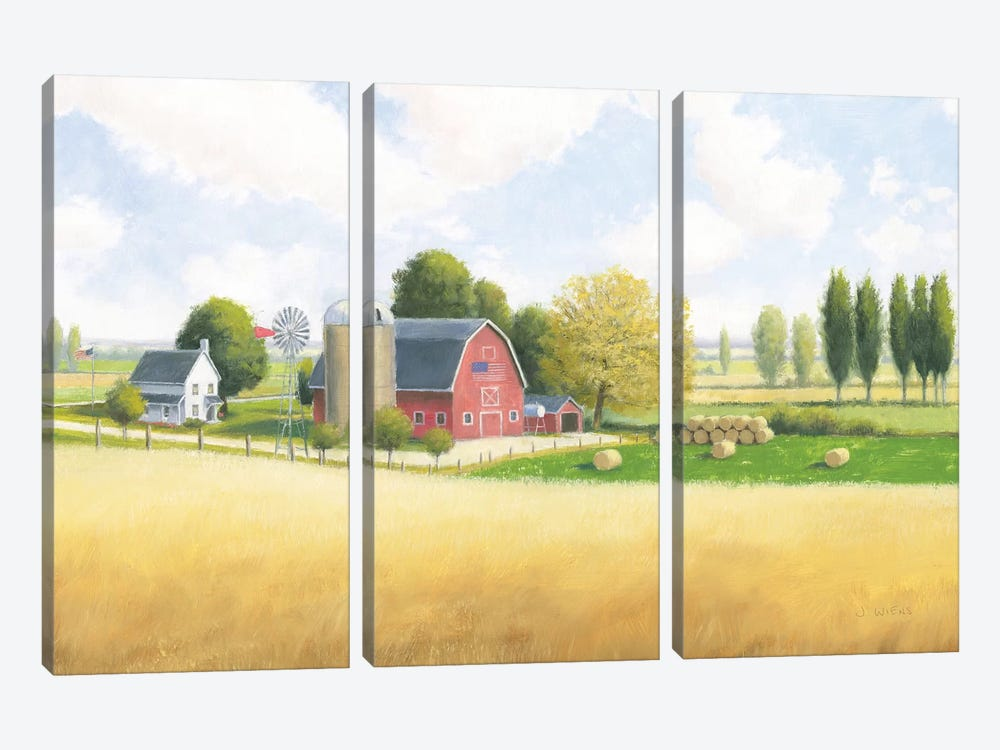 Land Of The Brave 3-piece Canvas Artwork