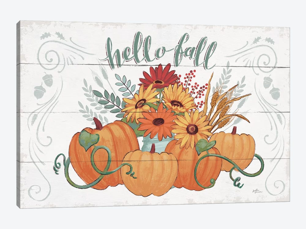 Fall Fun I by Janelle Penner 1-piece Canvas Art