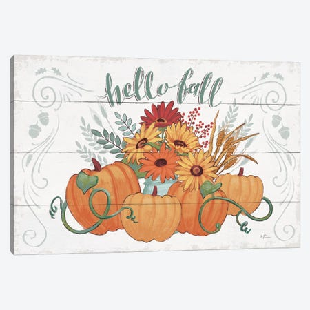 Fall Fun I Canvas Print #WAC8096} by Janelle Penner Canvas Print