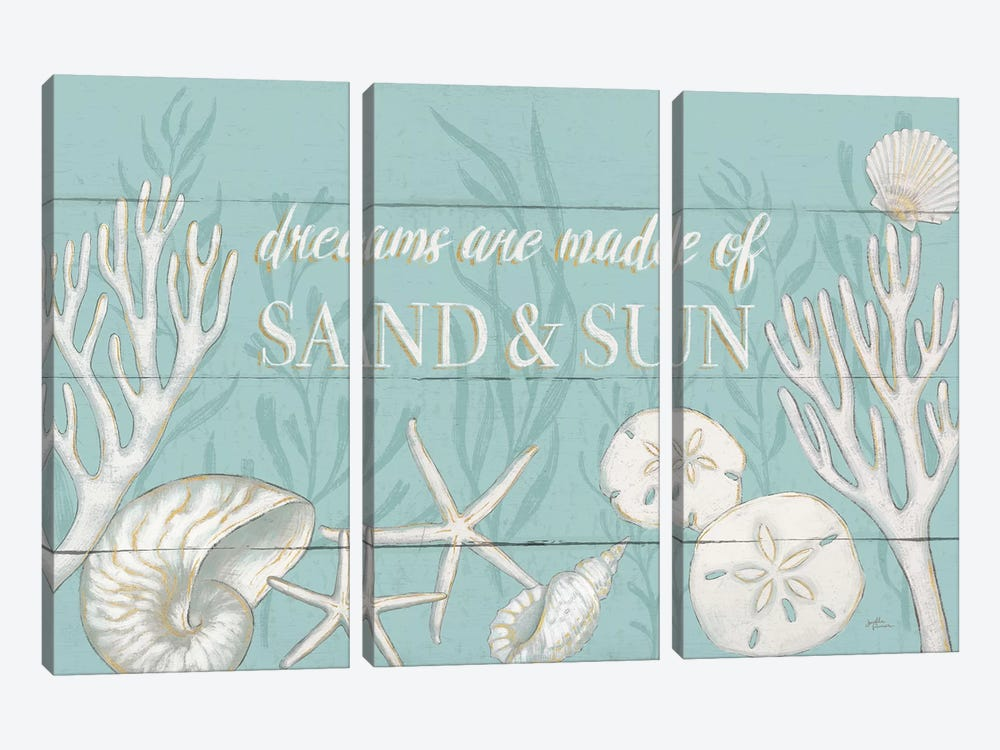 Tranquil Morning I by Janelle Penner 3-piece Canvas Print