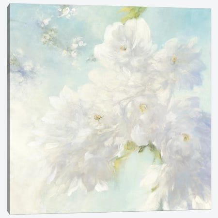 Pear Blossoms, Bright Canvas Print #WAC8111} by Julia Purinton Art Print