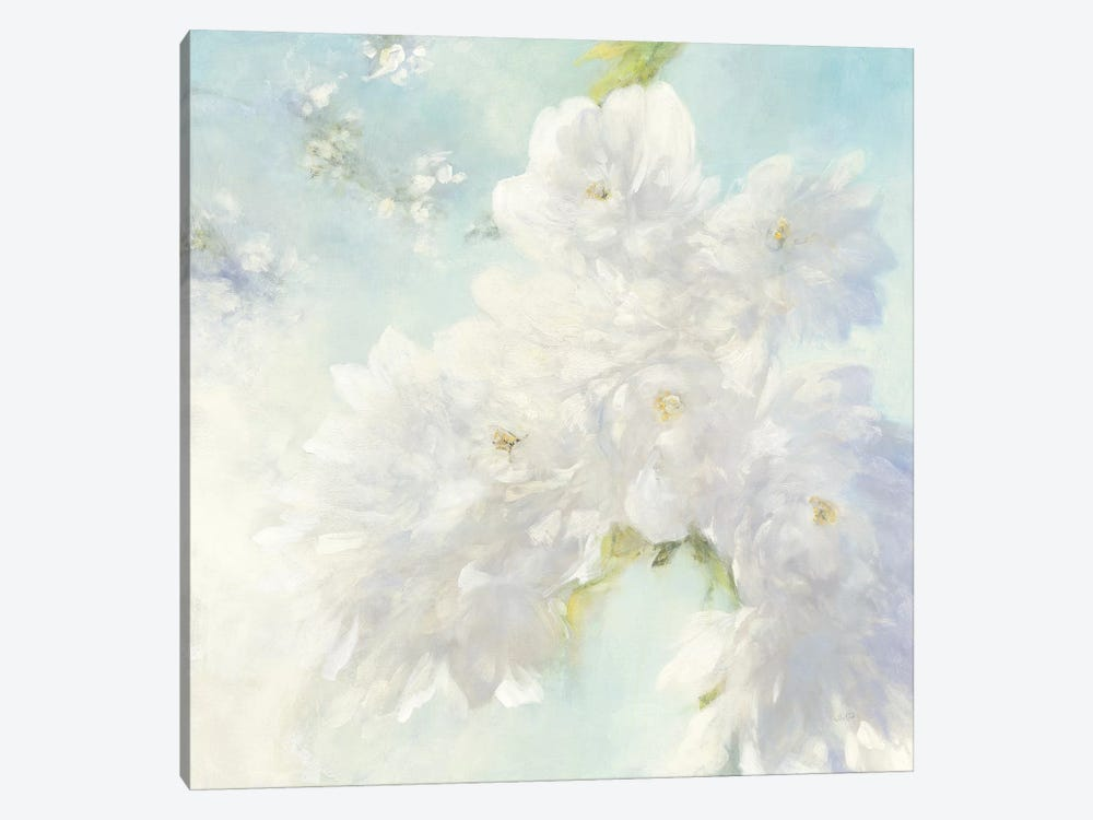 Pear Blossoms, Bright by Julia Purinton 1-piece Canvas Wall Art