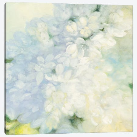 White Lilacs, Bright Canvas Print #WAC8114} by Julia Purinton Canvas Art