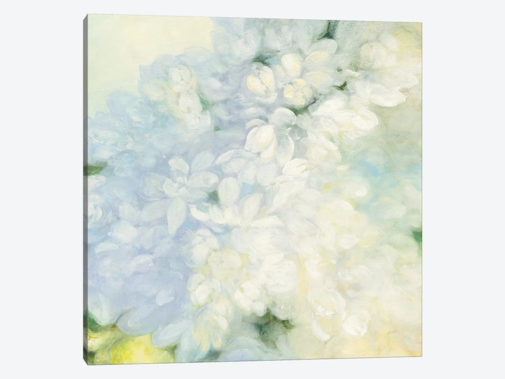 White Lilacs, Bright by Julia Purinton 1-piece Art Print