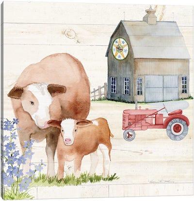 Life On The Farm I Canvas Art Print