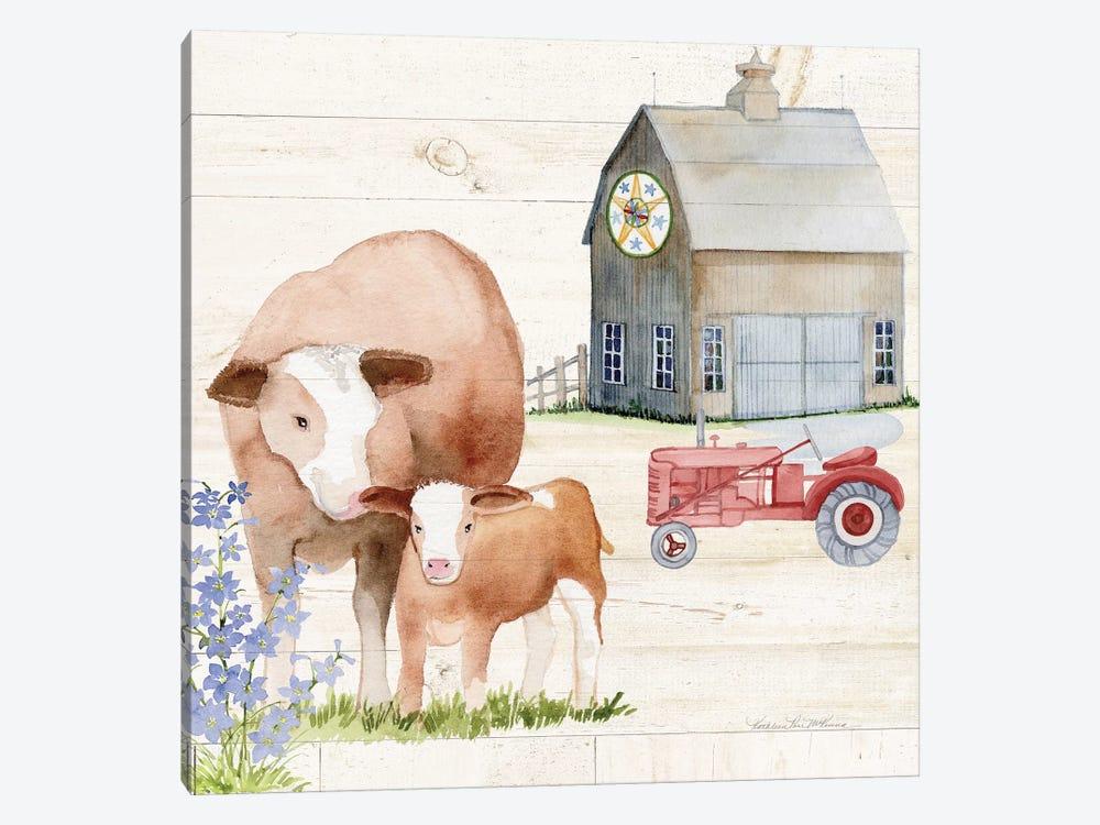 Life On The Farm I by Kathleen Parr McKenna 1-piece Art Print