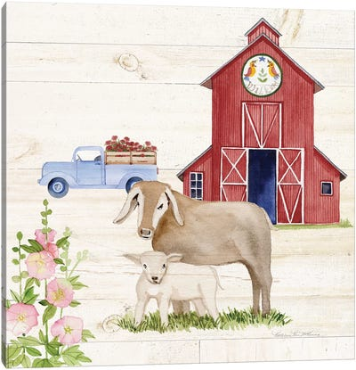 Life On The Farm IV Canvas Art Print