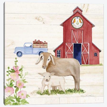 Life On The Farm IV Canvas Print #WAC8119} by Kathleen Parr McKenna Canvas Print