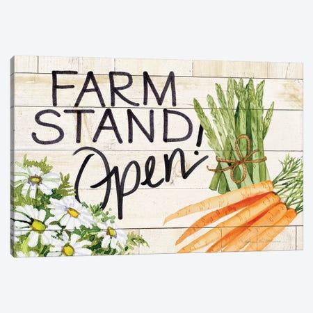 Life On The Farm: Sign IV Canvas Print #WAC8127} by Kathleen Parr McKenna Art Print