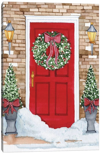 Night Before Christmas I Canvas Art Print