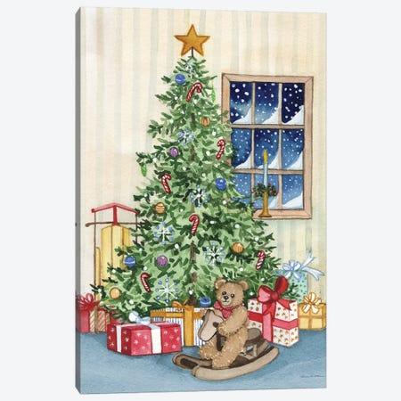 Night Before Christmas III Canvas Print #WAC8130} by Kathleen Parr McKenna Canvas Art Print