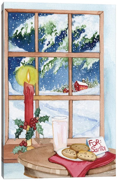 Night Before Christmas IV Canvas Art Print