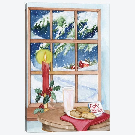 Night Before Christmas IV Canvas Print #WAC8131} by Kathleen Parr McKenna Canvas Art Print