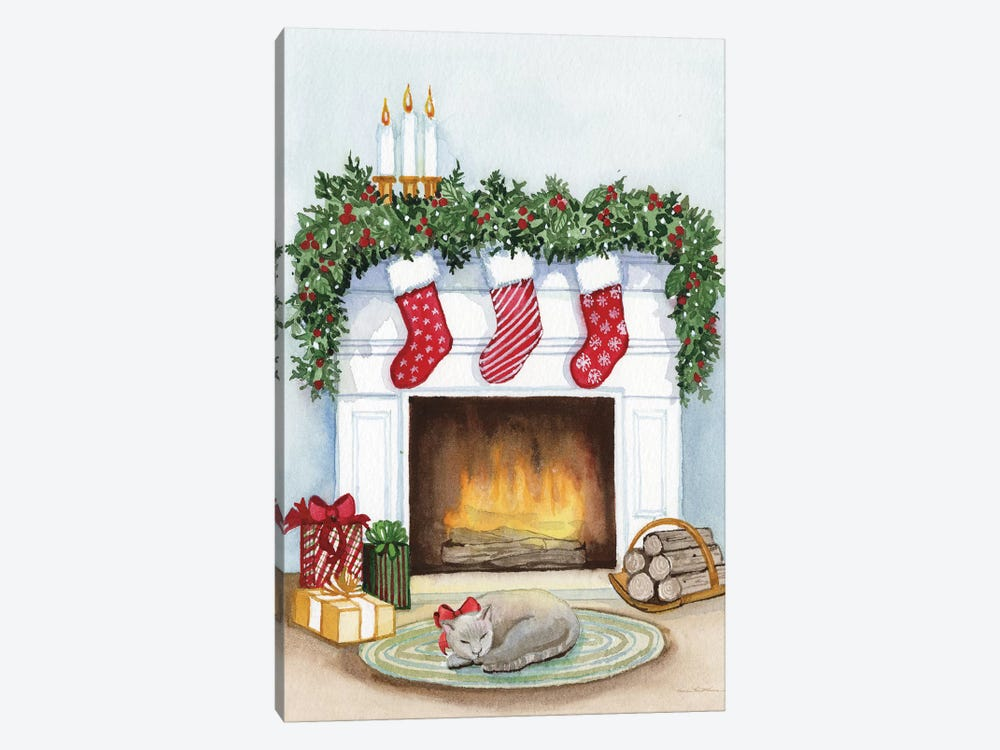 Night Before Christmas V by Kathleen Parr McKenna 1-piece Canvas Print