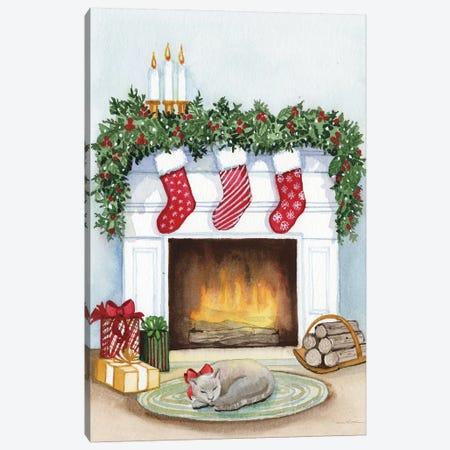 Night Before Christmas V Canvas Print #WAC8132} by Kathleen Parr McKenna Art Print