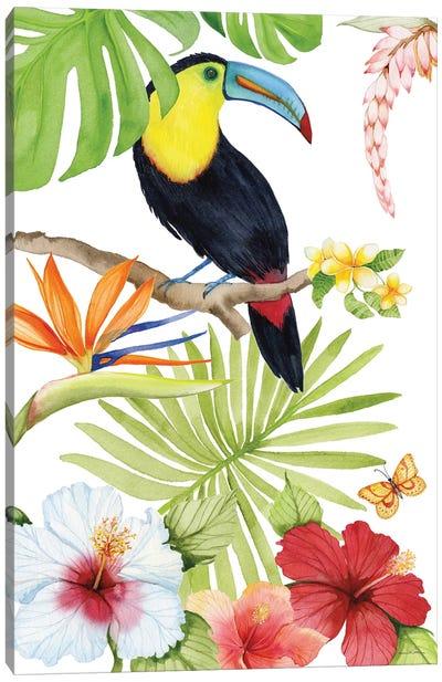 Treasures Of The Tropics I Canvas Art Print