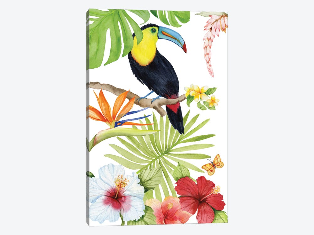 Treasures Of The Tropics I by Kathleen Parr McKenna 1-piece Canvas Wall Art