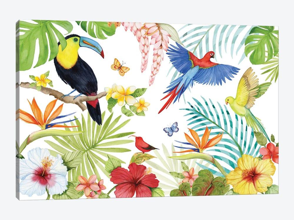 Treasures Of The Tropics III by Kathleen Parr McKenna 1-piece Canvas Art