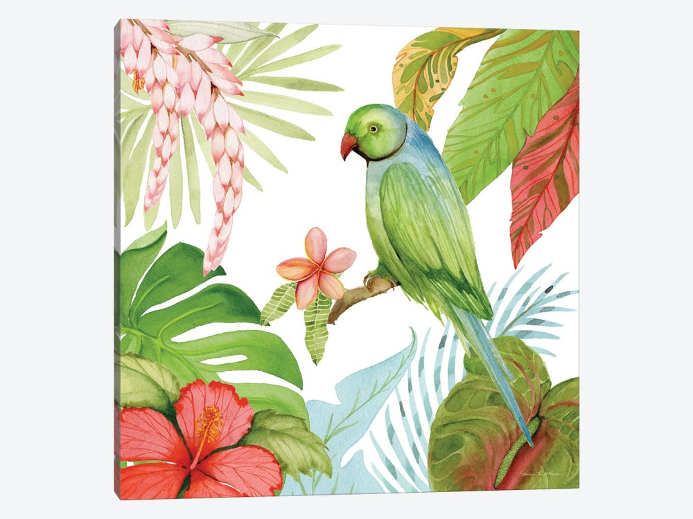 Treasures Of The Tropics VII by Kathleen Parr McKenna 1-piece Canvas Art