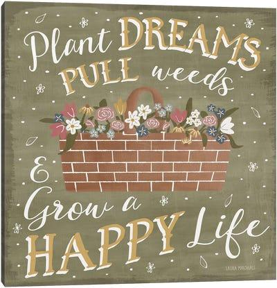 Blooming Garden V Canvas Art Print