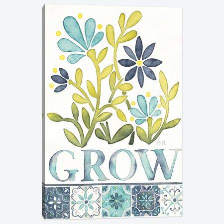 Garden Getaway Inspiration III Canvas Print #WAC8148} by Laura Marshall Canvas Wall Art